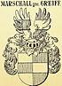 J. Siebmachers Preußischer Adel (Freiherren, Nachträge) Bd. III. 1. II, Tafel 10 - Auszug Marschall gen. Greiff.jpg
