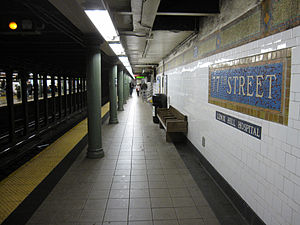 77th Street IRT Lexington 1489.JPG