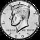 avers - 50 centů