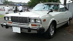 Nissan Bluebird G6 coupé (Japan)