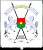 Brasão de armas do Burkina Faso