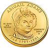 Abigail Adams First Spouse Coin obverse.jpg