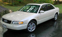 1997–1999 Audi A8 (D2) 4.2 quattro (US)