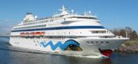 Le AIDA Cara partant de Helsinki