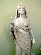 Isis-Perséfone. 180 - 190 d. C.