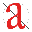 Lowercase 'a' in Adobe Caslon