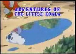 Adventures of the Little Koala Title Card.JPG