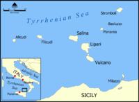 Mapa del archipiélago