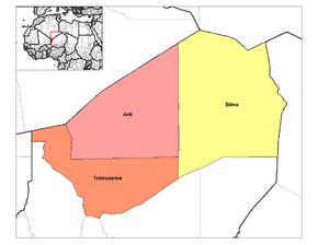 Departments of Agadez