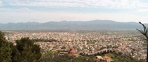 Panorama of Agrinio.
