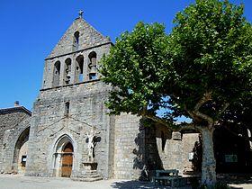Ailhon: l'église Saint-André