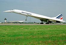 Concorde de Air France.