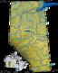 Rivers and lakes in Alberta