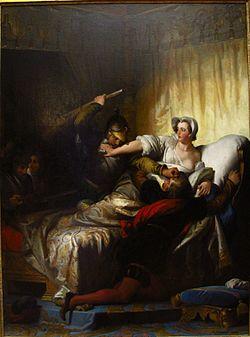 Alexandre-Évariste Fragonard - Scène du massacre de la Saint-Barthélémy (1836).jpg