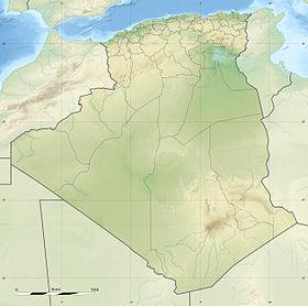 Voir la carte Algérie topographique