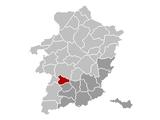 Alken Limburg Belgium Map.png