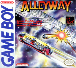 North American box art of Alleyway