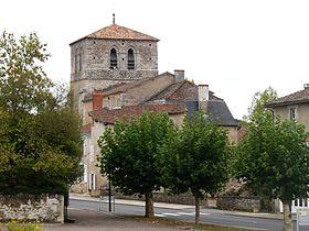 L'église et l'ancien prieuré Notre-Dame