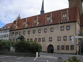 Old city hall in Zeitz