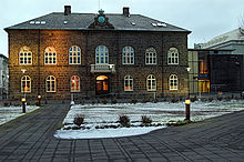 The Icelandic Parliament sits in the Old Royal Palace in Athens