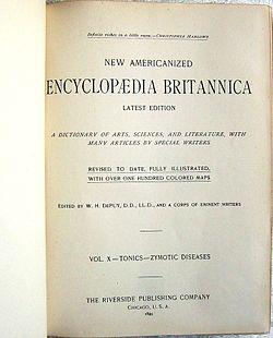 Nouvelle édition américaine de l'Encyclopædia Britannica (1991)