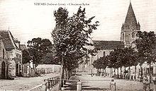 L'église médiévale du XIIesiècle détruite en 1895