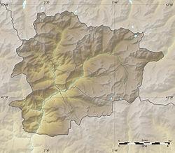 Andorra la Vella is located in Andorra