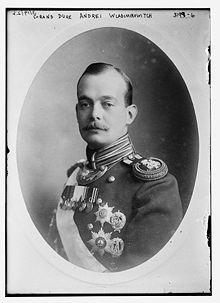Grand-duc André Vladimirovitch de Russie.