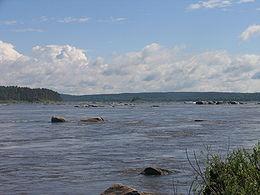 L'Angara près de Strelka.