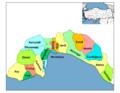 Districts of Antalya