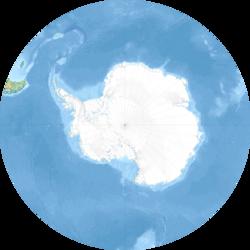 (Voir situation sur carte: Océan Austral)