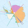 Territorial claims on Antarctica
