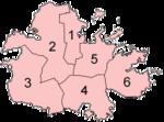 Les paroisses d'Antigua
