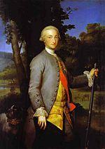 Anton Raphael Mengs, Prince of Asturias, Future Charles IV of Spain (са 1765) - 02.jpg
