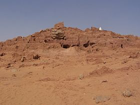 Les Grottes de Echaref de Timokten.