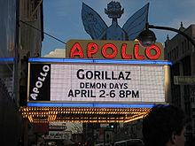 L'Apollo Theater en 2006 à New York