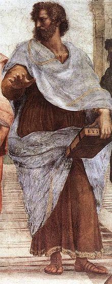 Aristote, par Raphaël