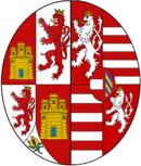 Arms of Anna of Austria (1549–1580), Queen consort of Spain.png