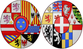 Arms of Maria Luisa of Savoy, Queen Consort of Spain.png