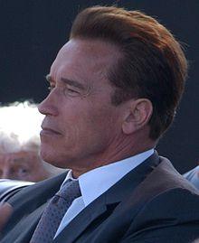 Profile photograph of Arnold Schwarzenegger