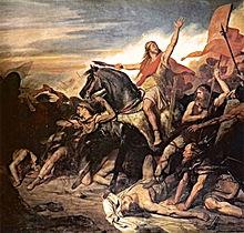 Ary Scheffer - Bataille de Tolbiac 496 .jpg