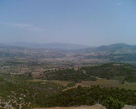 Vue sur la région montagneuse d'Assif Lekhmis.