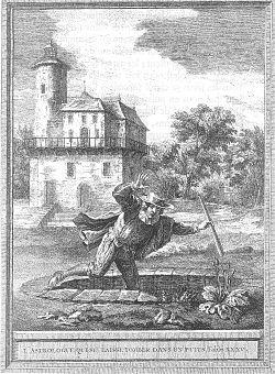 L'Astrologue qui se laisse tomber dans un puits, Jean de La Fontaine: Livre II, Fable 13