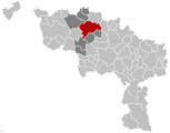 Ath Hainaut Belgium Map.png