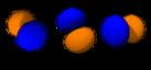 Orbitales 2p^1 à 2p^6