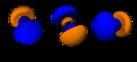 Orbitales 4p^1 à 4p^6