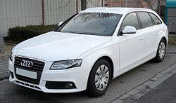 Audi A4 Avant B8 (Germany)