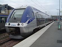 L'automotrice Z 27804 TER Bretagne