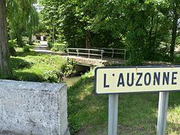 L'Auzonne au moulin de Chaury près de Bors