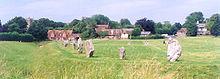 Avebury henge and village UK.jpg